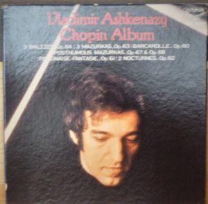 ASHKENAZY CHOPIN ALMBUM