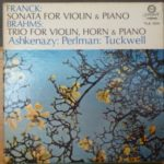 Franck Sonata for violin and piano