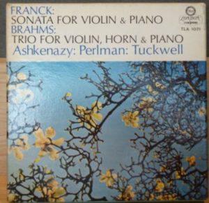 Franck Sonata for violin and piano